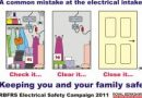 How safe is your electrical intake – are you at risk of a fire in your home or business premises?