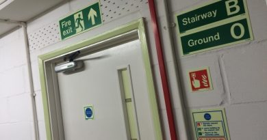 Stairway & Floor Identification